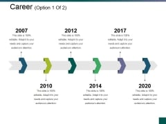 Career Template 2 Ppt PowerPoint Presentation File Portfolio