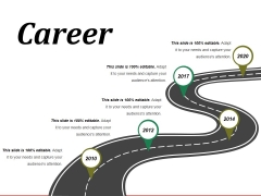 Career Template 2 Ppt PowerPoint Presentation Icon Designs