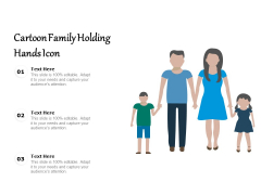 Cartoon Family Holding Hands Icon Ppt PowerPoint Presentation Icon Slides PDF
