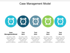 Case Management Model Ppt PowerPoint Presentation Professional Files Cpb