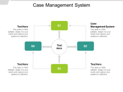 Case Management System Ppt PowerPoint Presentation Ideas Visuals Cpb