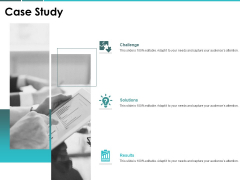 Case Study Challenge Solutions Ppt PowerPoint Presentation Show Graphics Design