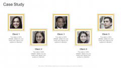 Case Study Communication Company Profile Ppt Outline Inspiration PDF