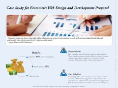 Case Study For Ecommerce Web Design And Development Proposal Ppt Slides Microsoft PDF