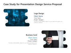 Case Study For Presentation Design Service Proposal Ppt PowerPoint Presentation Model Clipart
