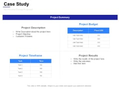 Case Study For Process Change Proposal Ppt Powerpoint Presentation Pictures Mockup