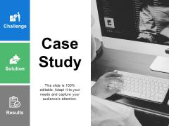 Case Study Marketing Ppt PowerPoint Presentation Icon Grid