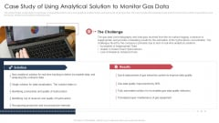 Case Study Of Using Analytical Solution To Monitor Gas Data Clipart PDF
