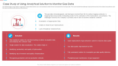 Case Study Of Using Analytical Solution To Monitor Gas Data Ppt Show Gridlines PDF