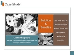 Case Study Ppt PowerPoint Presentation Icon