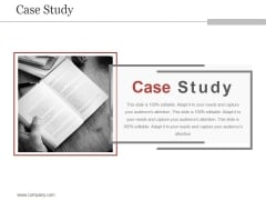 Case Study Ppt PowerPoint Presentation Show