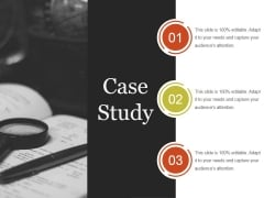 Case Study Template 2 Ppt PowerPoint Presentation Clipart
