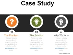 Case Study Template 2 Ppt PowerPoint Presentation Icon Gridlines