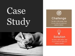 Case Study Template 2 Ppt PowerPoint Presentation Infographic Template