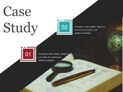 Case Study Template 2 Ppt PowerPoint Presentation Inspiration Mockup