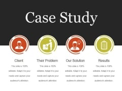 Case Study Template 3 Ppt PowerPoint Presentation Samples