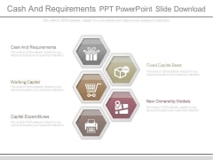Cash And Requirements Ppt Powerpoint Slide Download