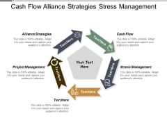 Cash Flow Alliance Strategies Stress Management Project Management Ppt PowerPoint Presentation Portfolio Slide