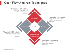 Cash Flow Analysis Techniques Ppt PowerPoint Presentation Infographic Template