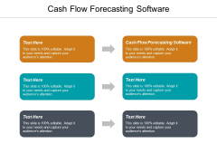 Cash Flow Forecasting Software Ppt PowerPoint Presentation Infographics Influencers Cpb