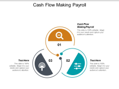 Cash Flow Making Payroll Ppt PowerPoint Presentation Show File Formats Cpb