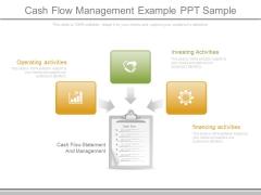 Cash Flow Management Example Ppt Sample