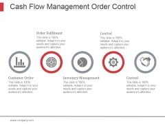 Cash Flow Management Order Control Ppt PowerPoint Presentation Design Ideas