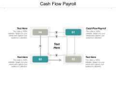 Cash Flow Payroll Ppt PowerPoint Presentation Model Objects Cpb