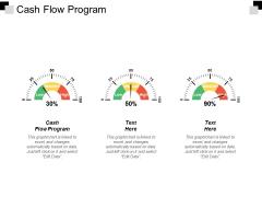 Cash Flow Program Ppt Powerpoint Presentation Layouts Graphics Pictures Cpb