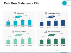 Cash Flow Statement Kpis Ppt PowerPoint Presentation Gallery Vector