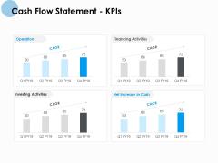 Cash Flow Statement Kpis Ppt PowerPoint Presentation Outline Deck
