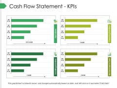 Cash Flow Statement Kpis Ppt PowerPoint Presentation Pictures Graphics