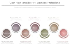 Cash Flow Template Ppt Examples Professional