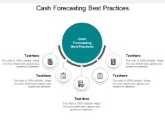Cash Forecasting Best Practices Ppt PowerPoint Presentation File Brochure Cpb