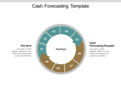 Cash Forecasting Template Ppt PowerPoint Presentation File Deck