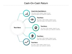 Cash On Cash Return Ppt PowerPoint Presentation Inspiration Brochure Cpb