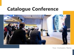 Catalogue Conference Technology Data Ppt PowerPoint Presentation Complete Deck