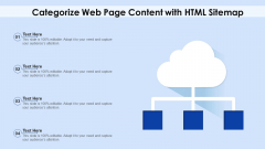 Categorize Web Page Content With HTML Sitemap Ppt PowerPoint Presentation File Graphics Example PDF