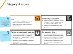 Category Analysis Ppt PowerPoint Presentation Diagram Ppt