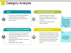 Category Analysis Ppt PowerPoint Presentation File Inspiration