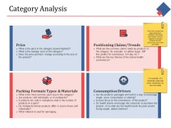 Category Analysis Ppt PowerPoint Presentation Gallery Design Templates
