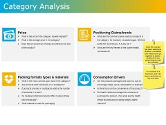 Category Analysis Ppt PowerPoint Presentation Icon Smartart