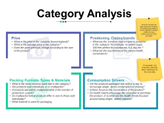 Category Analysis Ppt Powerpoint Presentation Model Background Designs