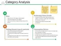 Category Analysis Ppt PowerPoint Presentation Styles Ideas