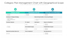 Category Plan Management Chart With Geographical Scope Ppt Infographics Designs Download PDF