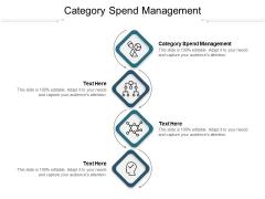 Category Spend Management Ppt PowerPoint Presentation Ideas Portrait Cpb Pdf