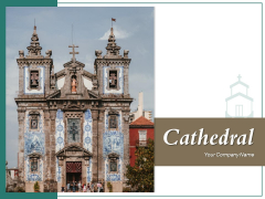 Cathedral Woman Praying Ppt PowerPoint Presentation Complete Deck
