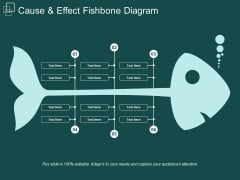 Cause And Effect Fishbone Diagram Ppt Powerpoint Presentation Images