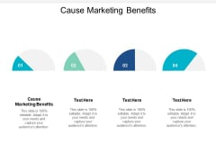 Cause Marketing Benefits Ppt PowerPoint Presentation Inspiration Introduction Cpb