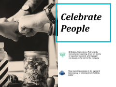 Celebrate People Ppt PowerPoint Presentation Show Samples